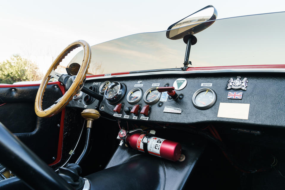 <b>1961 Elva Courier Roadster</b><br />Chassis no. 100155<br />Engine no. 16GC-U-H3693