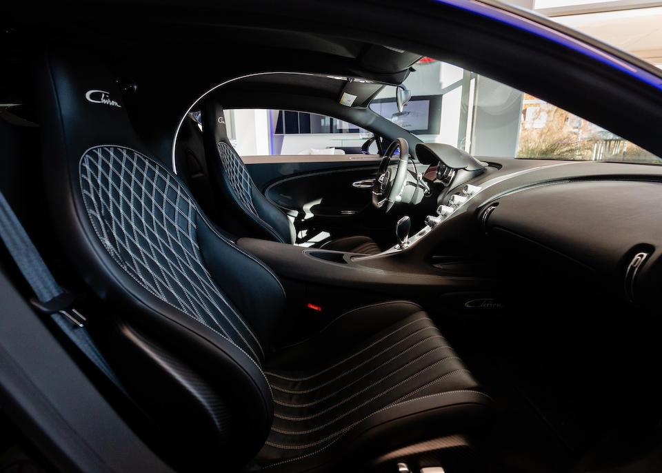 <b>2018 Bugatti Chiron</b><br />VIN. VF9SP3V3XJM795072