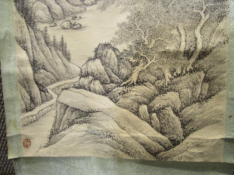 Zhang Zhiwan (1811-1897) Landscape
