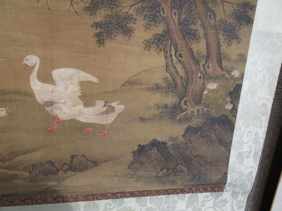 Anonymous (18th century)  Geese