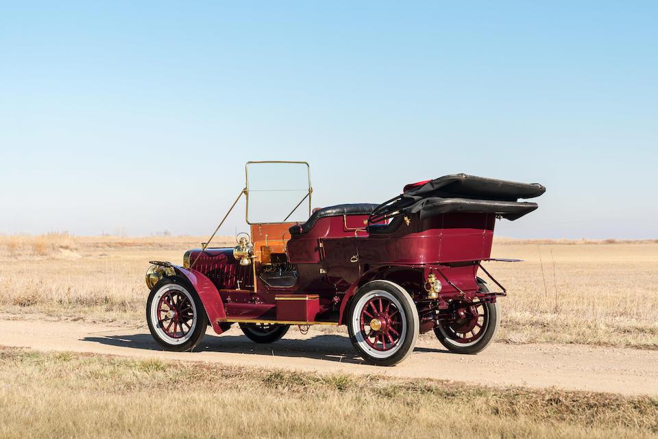 <b>1906 Stevens-Duryea Model U 5-Passenger Touring</b><br />Chassis no. 13027<br />Engine no. 575
