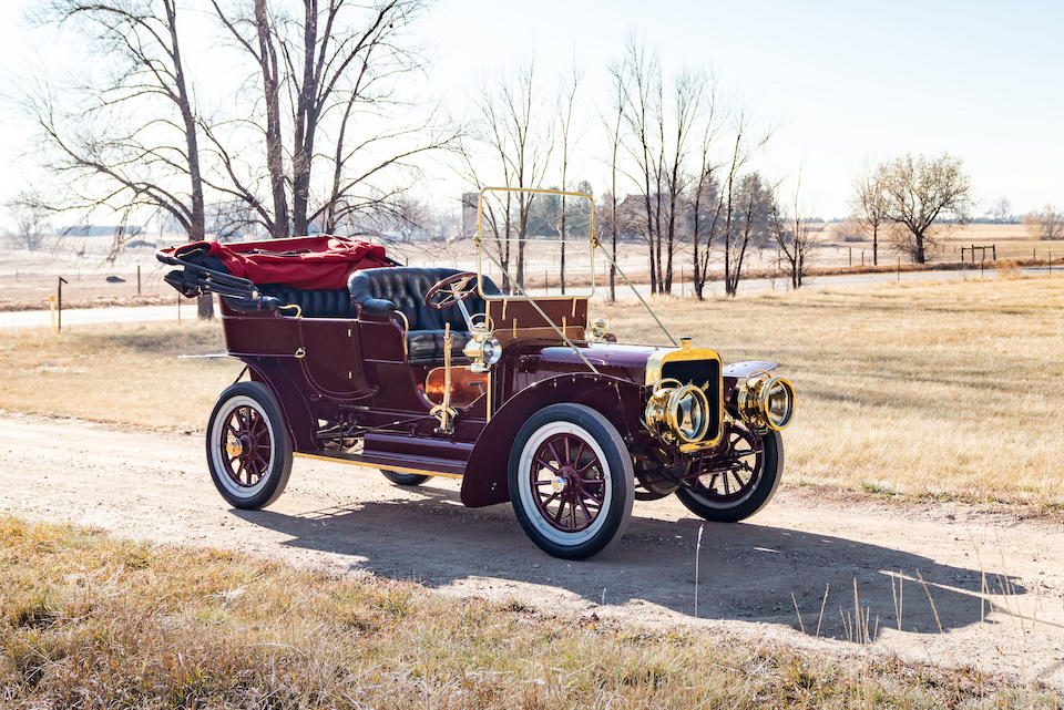 <b>1906 Stevens-Duryea Model U 5-Passenger Touring</b><br />Chassis no. 13027<br />Engine no. 575