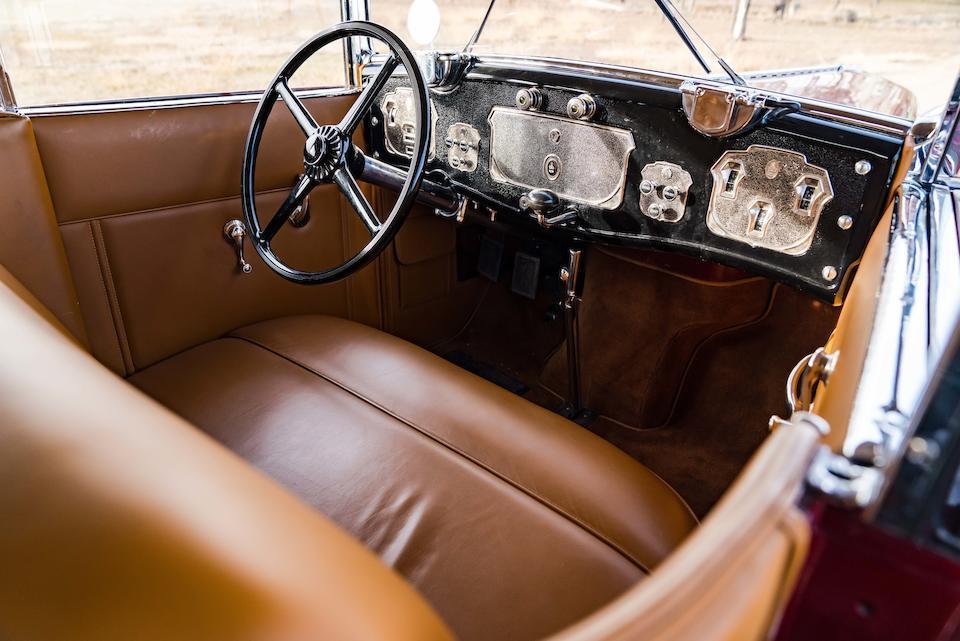 <b>1930 Cord L-29 Convertible Sedan</b><br />Chassis no. 2927299<br />Engine no. FDA 2221
