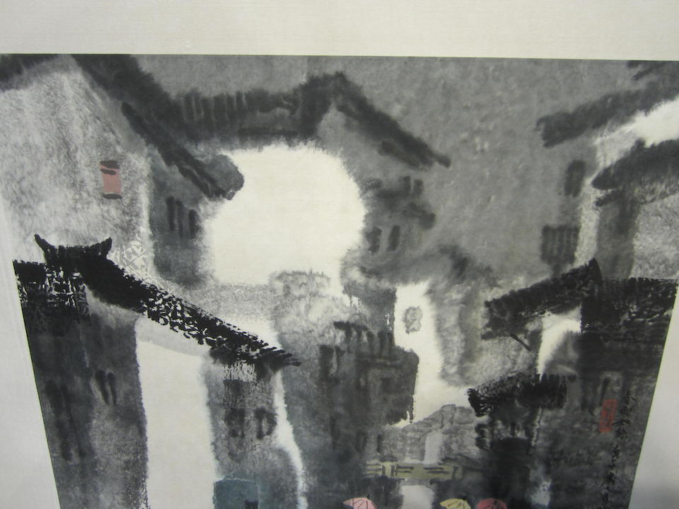 Xu Xi (1940-2015) Spring Rain, 1990