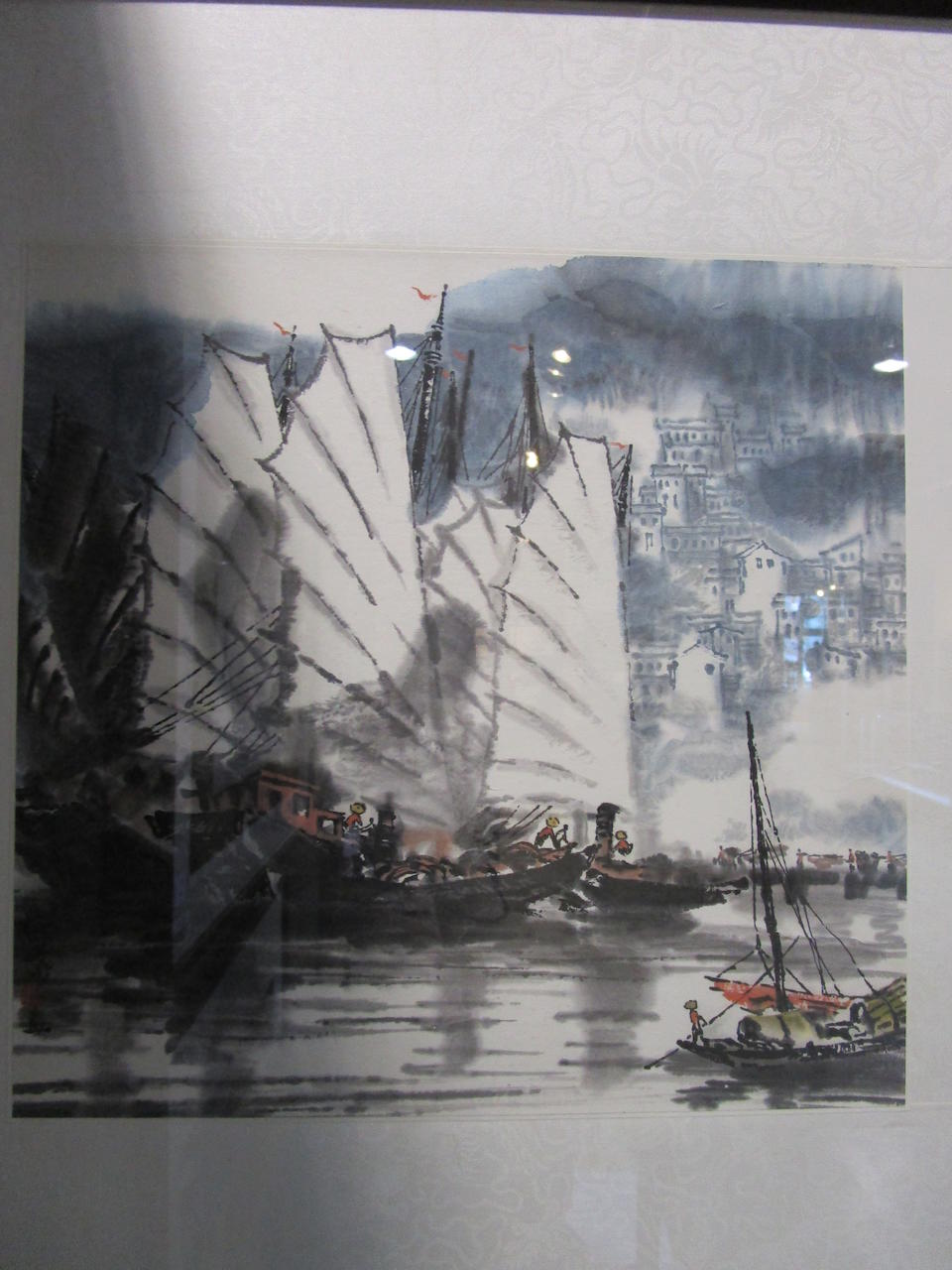 Xu Xi (1940-2015)  Two paintings of Landscape