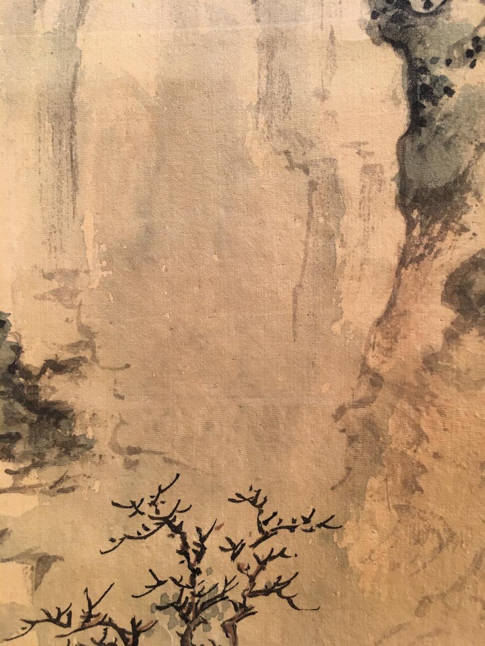 Zhang Zan (Qing dynasty) Snow Landscape
