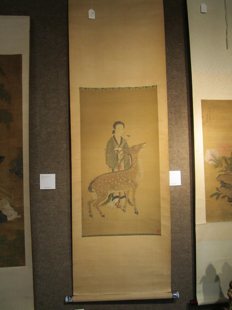 Attributed to Zeng Jing (1564-1647) Magu and Deer