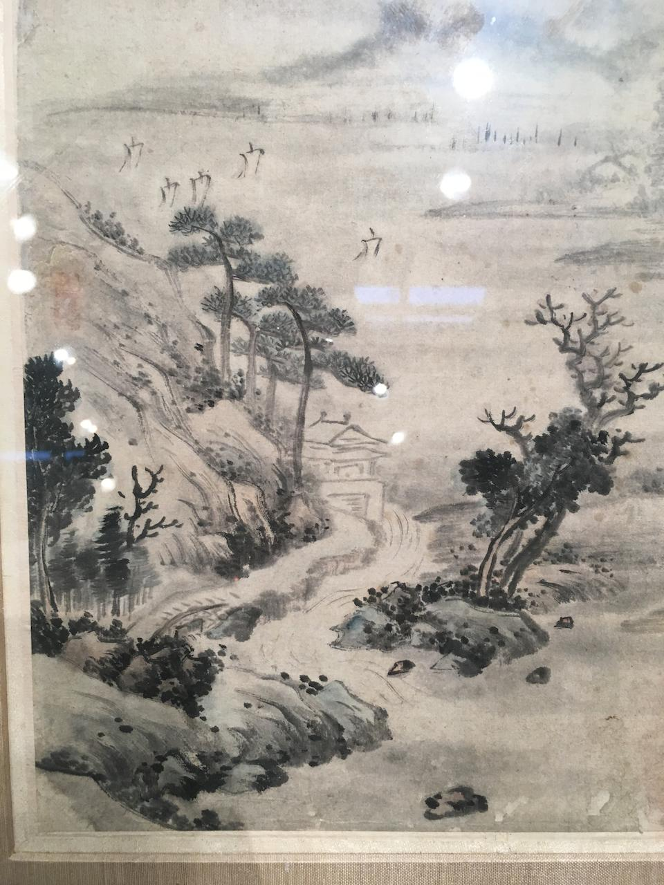 Various Artists (19th/20th century) Five paintings of Landscape