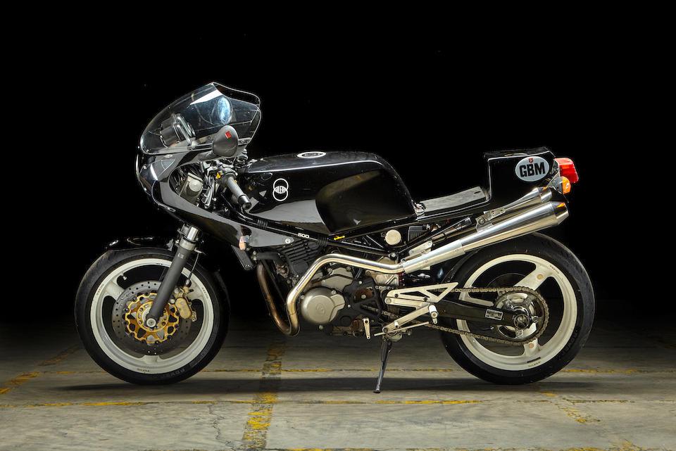 1989 Gilera 500 Nuovo GBM Saturno Frame no. NH02-00079 R Engine no. 221*001104*