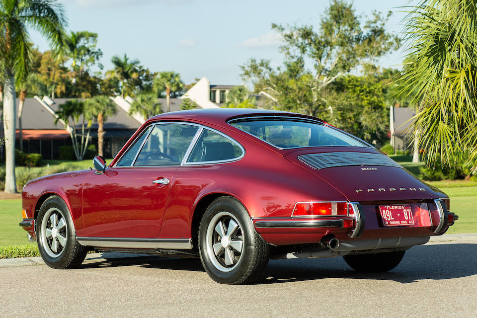 <b>1969 Porsche 911S 2.0 Coupe</b><br />Chassis no. 119301416 <br />Engine no. 6392023