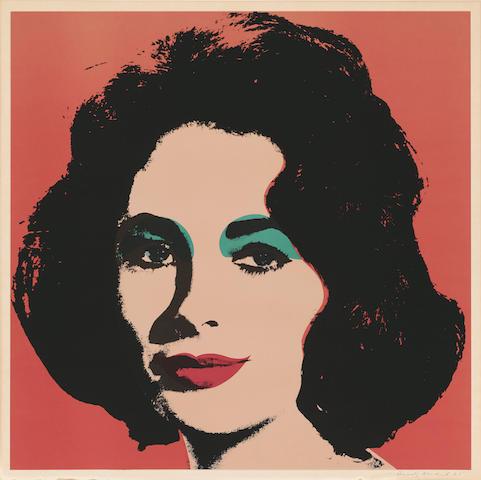 Andy Warhol (1928-1987); Liz;