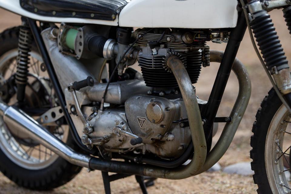 1965 Triumph 650cc T120C Special Frame no. DU 14023 Engine no. DU 14023