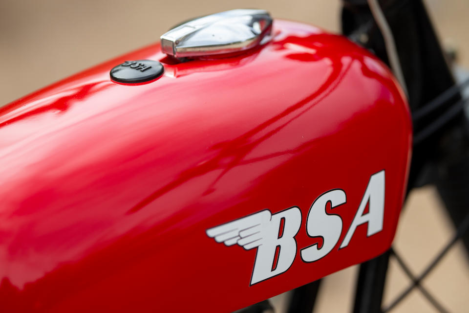 1967 BSA 650cc A65 Hornet Engine no. A65 HA 5146Y
