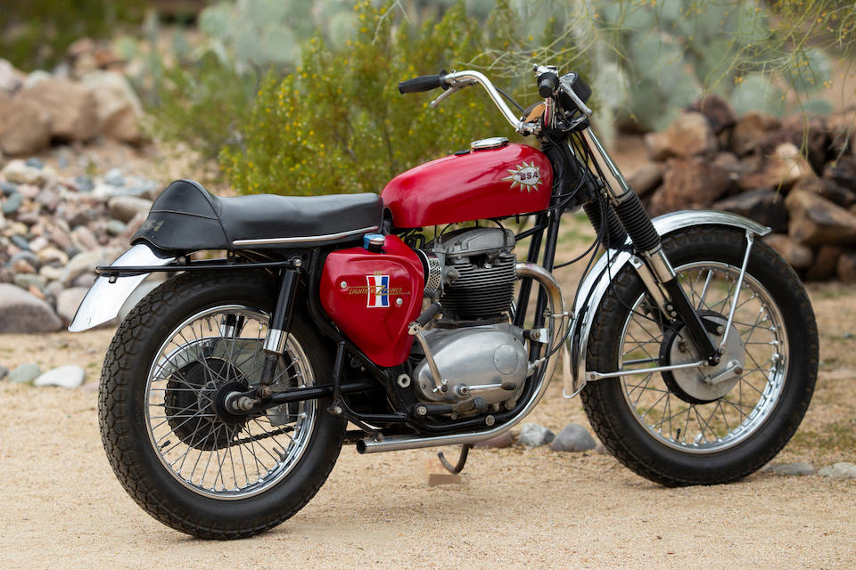 1967 BSA 650cc A65 Hornet Engine no. A65 HA 8049-Y
