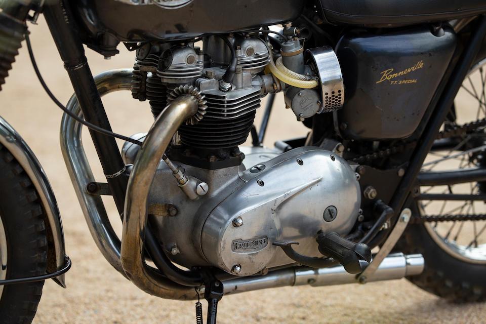 1967 Triumph 650cc T120TT Special Frame no. T120TT DU 45856 Engine no. T120TT DU 45856