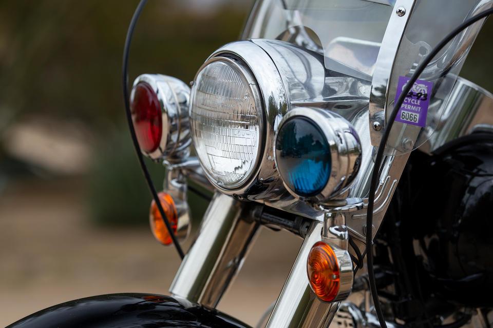 1971 Harley-Davidson Electra Glide 1200FL Police Special Frame no. 1A26826H1 Engine no. 1A26826H1