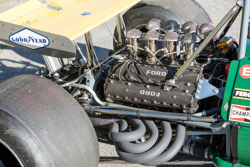<b>1968-69 3-Liter Repco Brabham-Cosworth BT26/BT26A</b><br />Chassis no. BT26-3<br />Engine no. 1986