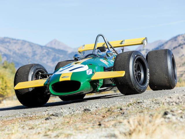 The Ex-Jochen Rindt/Jacky Ickx,1968-69 3-Liter Repco Brabham-Cosworth BT26/BT26A  Chassis no. BT26-3 Engine no. 1986
