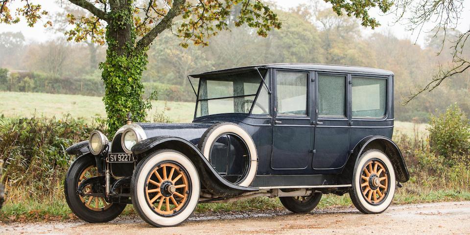 <b>1916 Simplex Crane Model 5 46hp Limousine</b><br />  Chassis no. 2196<br />Engine no. 2099