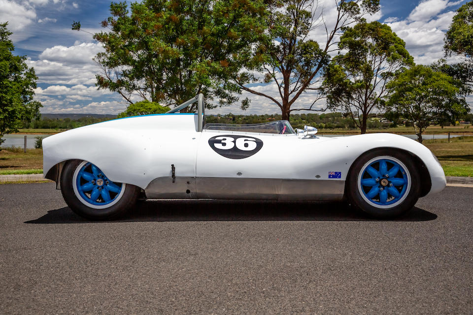 <b>1956 Cooper-Climax 1.5 Liter T-39 'Bobtail' Sports-Racing, Center-Seater</b><br />Chassis no. CS11-12-56<br />Engine no. FWB 400/86877