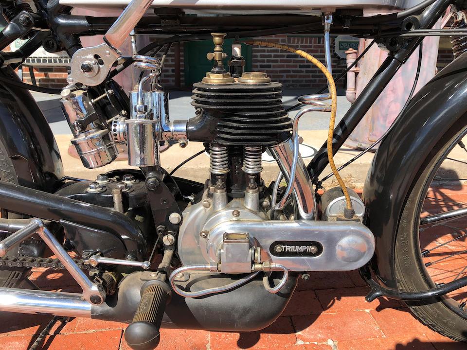 1926 Triumph 500cc Model P Engine no. 221290