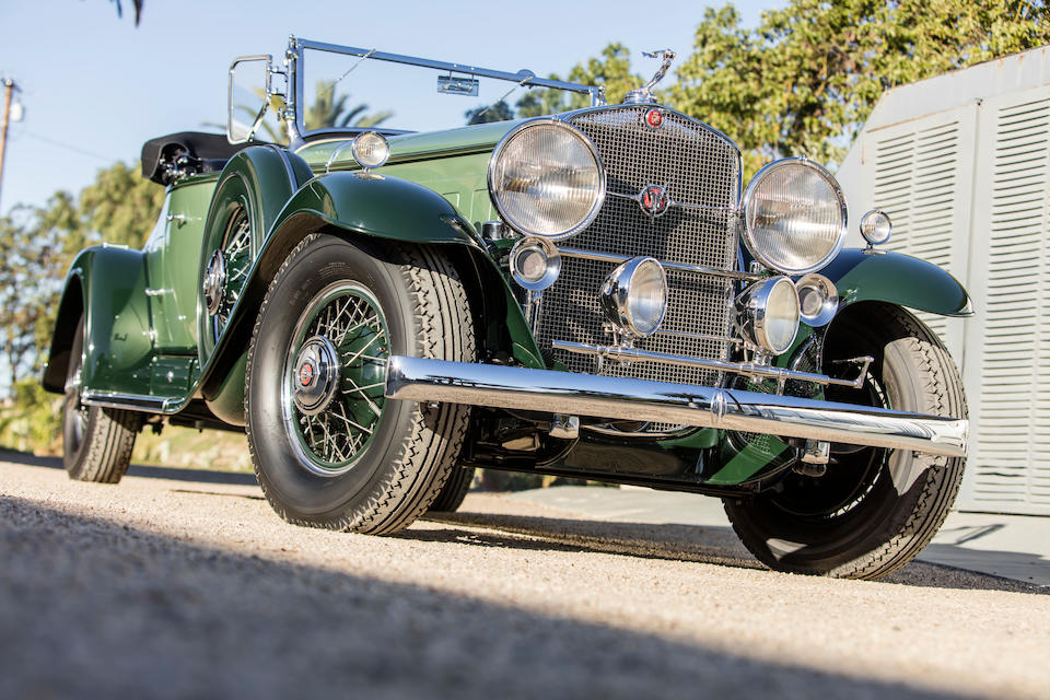 <b>1930 Cadillac Series 452 V-16 Roadster</b><br />Chassis no. 7-952<br />Engine no. 701056