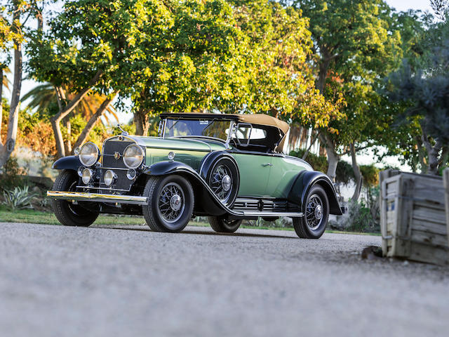 1930 Cadillac Series 452 V-16 Roadster  Chassis no. 7-952 Engine no. 701056