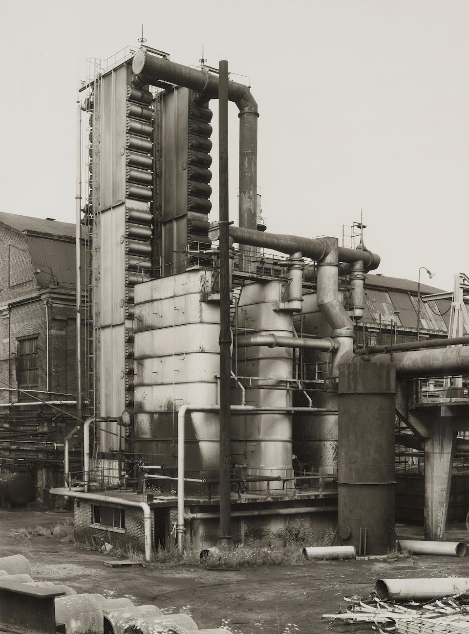 Bernd and Hilla Becher (1931-2007 and 1934-2015); Coke Plant Flemalle, Liege; Coke Plant, Emscher-Lippe, Dorsten, Ruhr; Coke Plant, Zeche Ewald Fortsetzung Recklinghausen, Ruhr; (3)