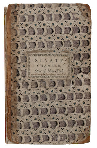STATE OF NEW YORK. Journal of the Senate of the State of New-York: At their Twenty-Fifth Session.... Albany: John Barber, Printer to the Senate, 1802.