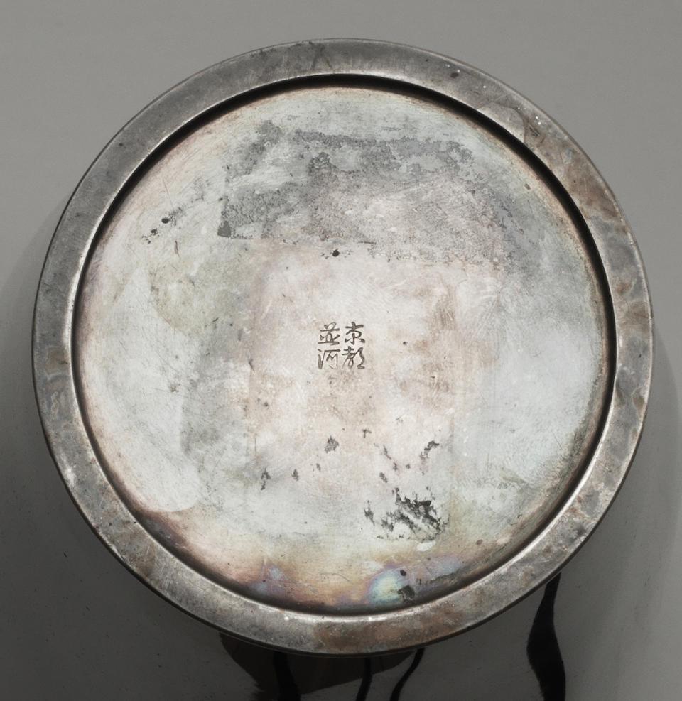 Namikawa Yasuyuki (1845-1927) A large and important hexagonal cloisonné-enamel vaseMeiji era (1868-1912), circa 1900