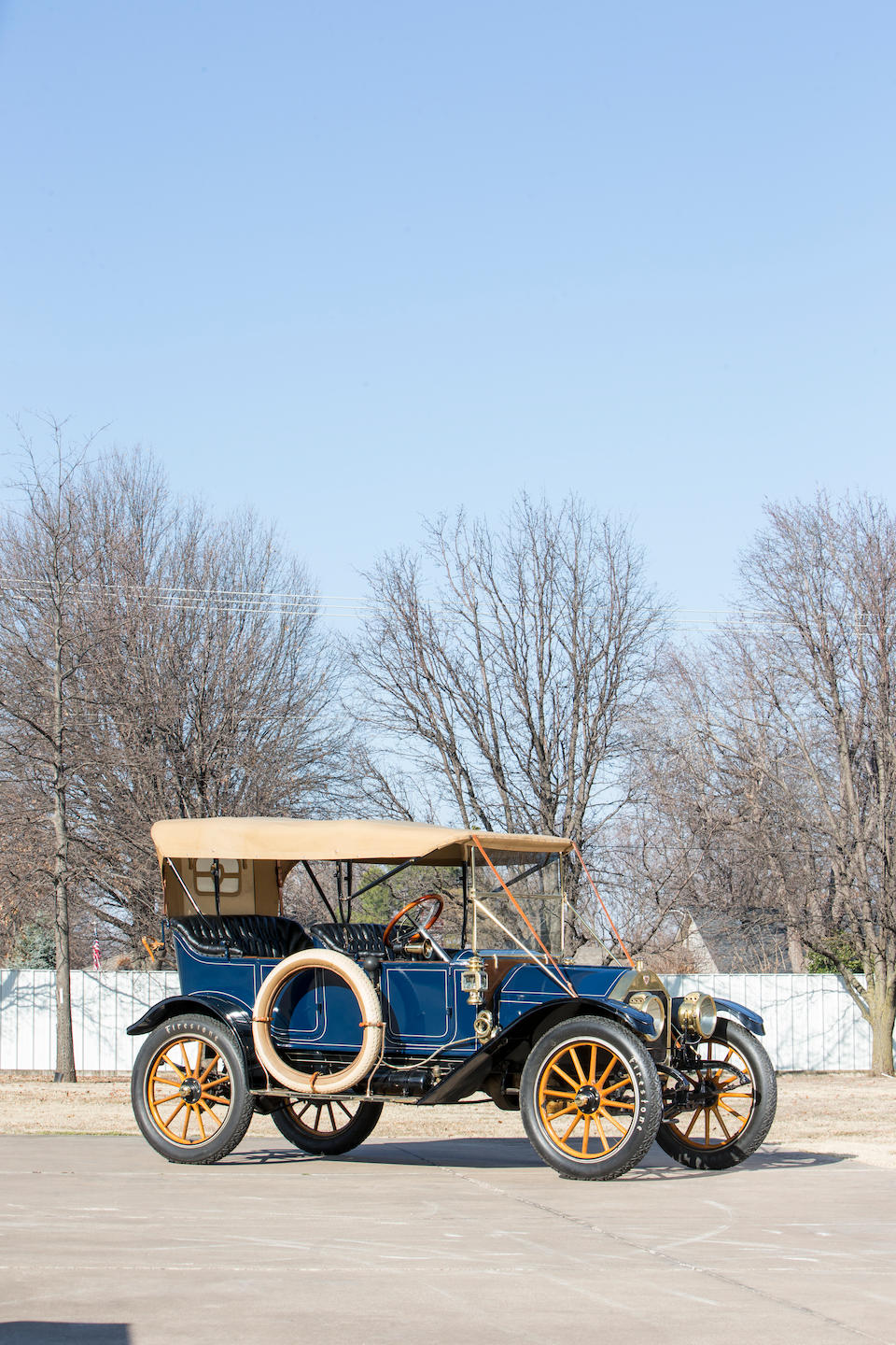 <b>1912 Crow-Elkhart Model 52 Five Passenger Touring</b><br />Chassis no. 5348<br />Engine no. 6415