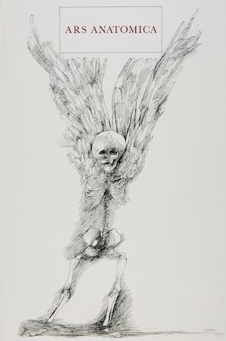 BASKIN, LEONARD. 1922-2000. Ars Anatomica: A Medical Fantasia. New York: Editions Medecina Rara, 1972.