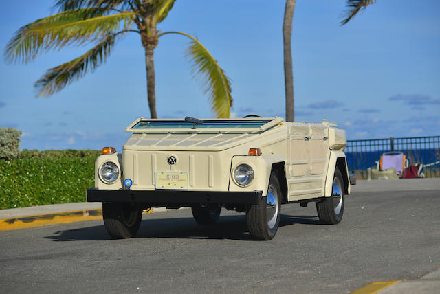 <b>1974 Volkswagen Type 181 &#8211; Beach Thing</b><br />Chassis no. 184252287