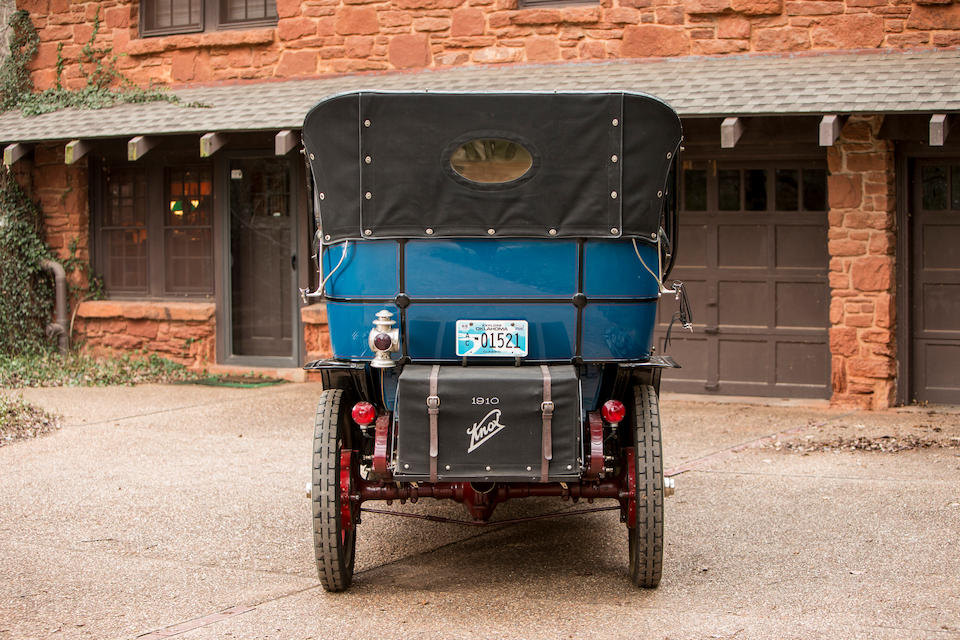 <b>1910 Knox Model R 40HP Seven-Passenger Touring</b><br /> Chassis no. 3481<br />Engine no. 251
