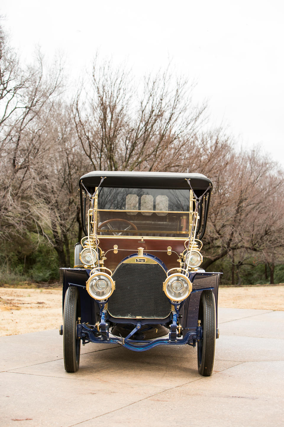 <b>c.1907 Tincher Model H 60HP Seven-Passenger Touring</b><br />Identification no. B-15