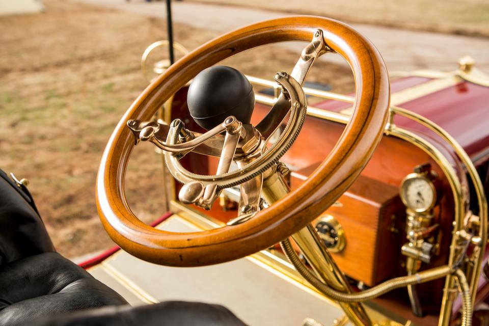 <b>c.1904 Pope-Toledo 24HP Four-Cylinder Rear Entrance Tonneau</b><br />Engine no. 2444