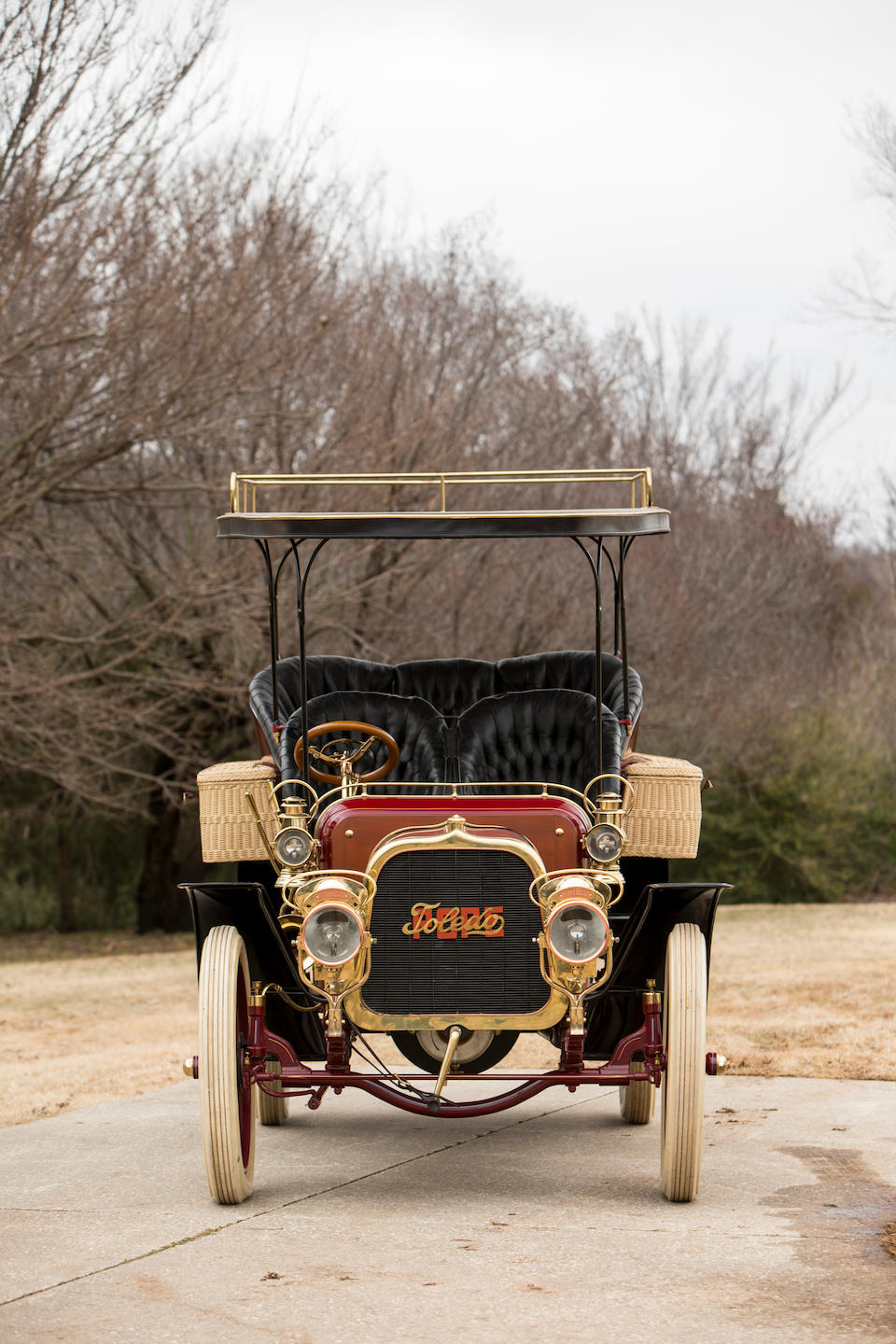 <b>c.1904 Pope-Toledo 24HP Four-Cylinder Rear Entrance Tonneau</b><br />Engine no. 2444