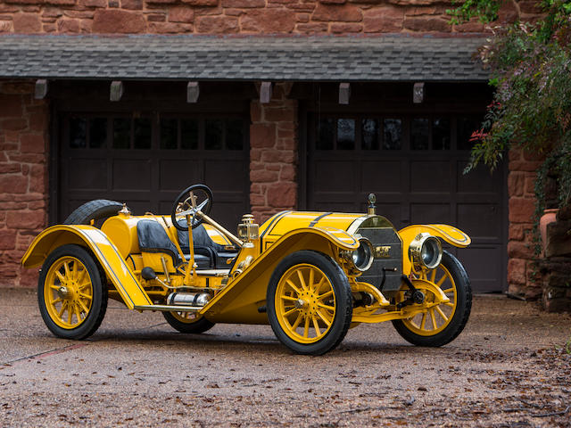 "From the Don C. Bolton Collection,1913 Mercer Type 35J ""Raceabout""  Engine no. 1462"