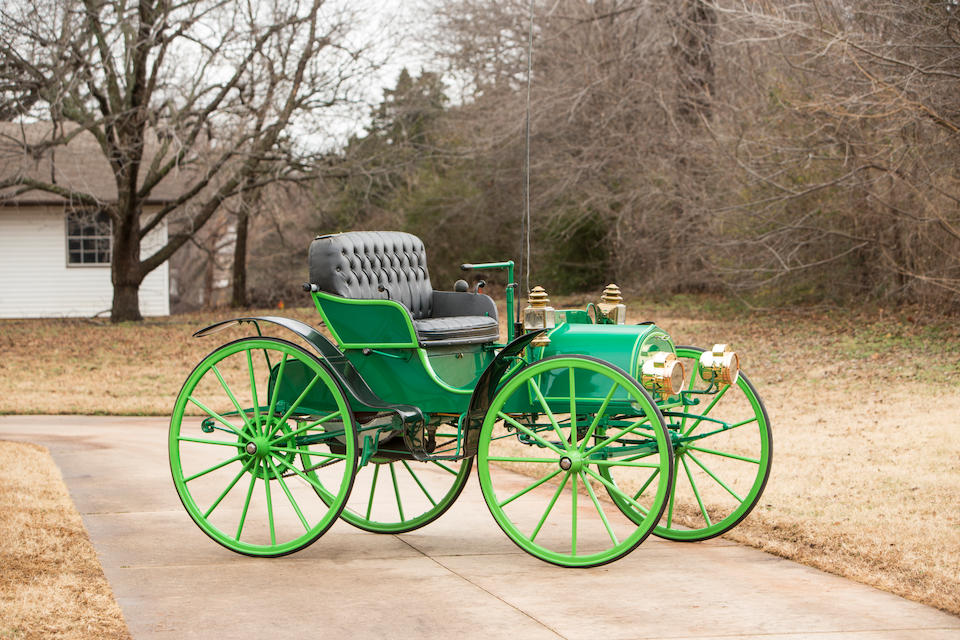 <b>1907 Columbus 10HP Two-Cylinder Autobuggy</b><br />Engine no. 142
