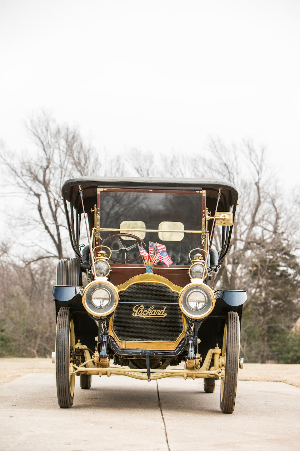 <b>1910 Packard Model UD '30' 40HP Seven-Passenger Touring </b><br />Chassis no. 11982<br />Engine no. 11982