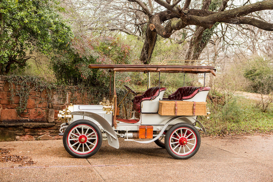 <b>1904 Peerless Type 8 Style K 24HP Four-Cylinder King of Belgium</b><br />Engine no. 585