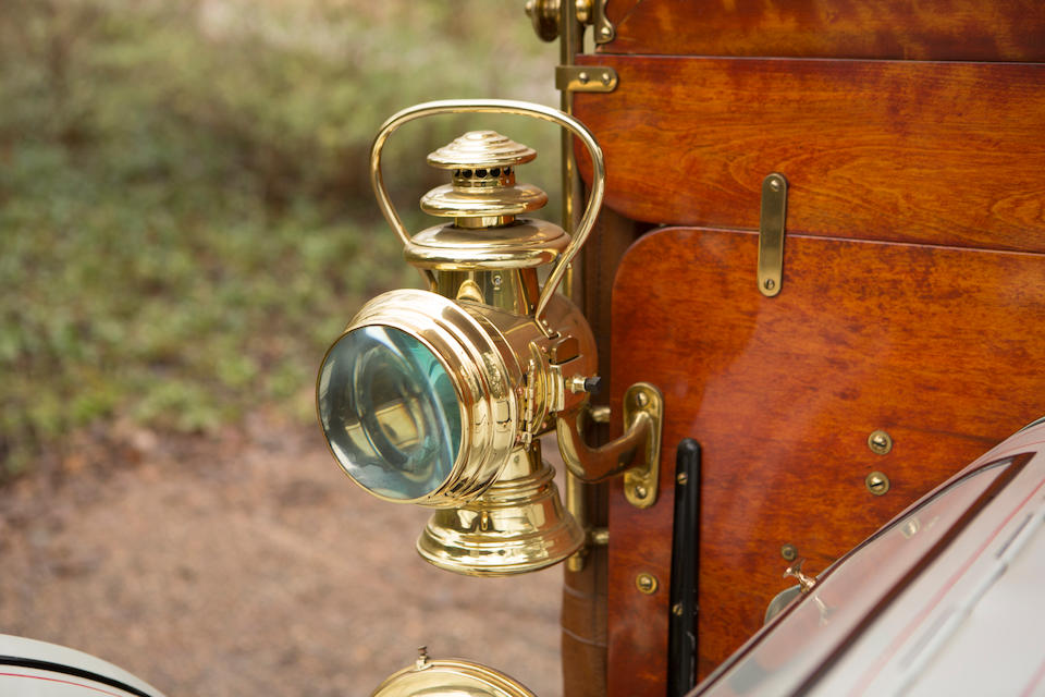 <b>1904 Peerless Type 8 Style K 24HP Four-Cylinder King of Belgium</b><br />Engine no. 585