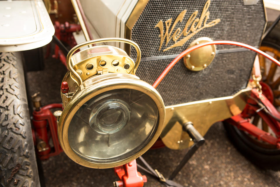 <b>1908 Welch Model 4-L 50HP Seven-Passenger Touring</b><br />Chassis no. 25