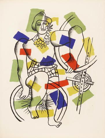 LEGER, FERNAND. 1881-1955. Le Cirque. Paris: Teriade, 1950.
