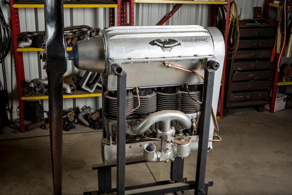 "A RARE VAMP (VAN DERSARL MOTOR PRODUCTS) AIRCRAFT COMPANY ""BAT"" ENGINE, BELIEVED 1929,"