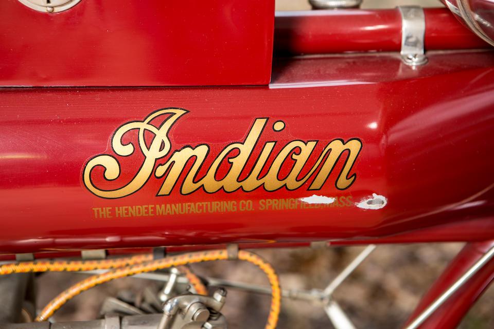 <b>1912 Indian 7HP Big Twin</b><br />Engine no. 72D349