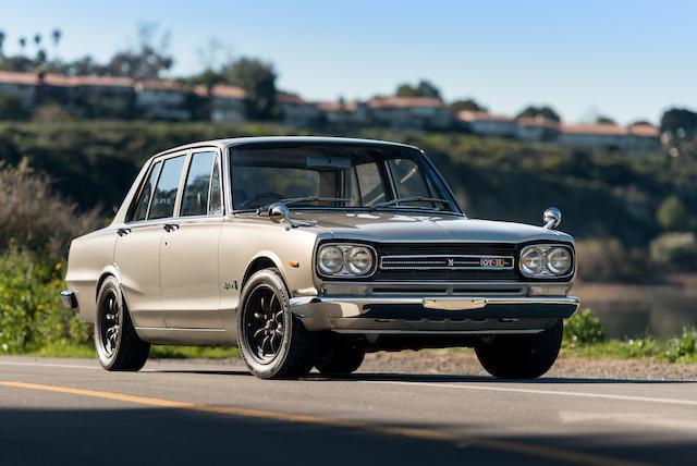 <b>1969 Nissan Skyline 2000 GT-R</b><br />Chassis no. PGC10-000565
