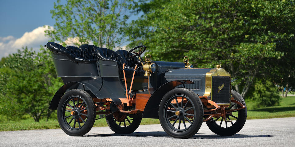 "<b>1904 Thomas MODEL 22 THREE CYLINDER 24HP ""FLYER"" REAR ENTRANCE TONNEAU</b><br />Engine no. 1083"