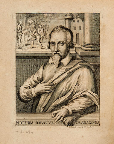 [SERVETUS, MICHAEL. C.1510-1553.] WOTTEN, WILLIAM.  Reflections Upon Ancient and Modern Learning. London: J. Leake for Peter Buck, 1694.