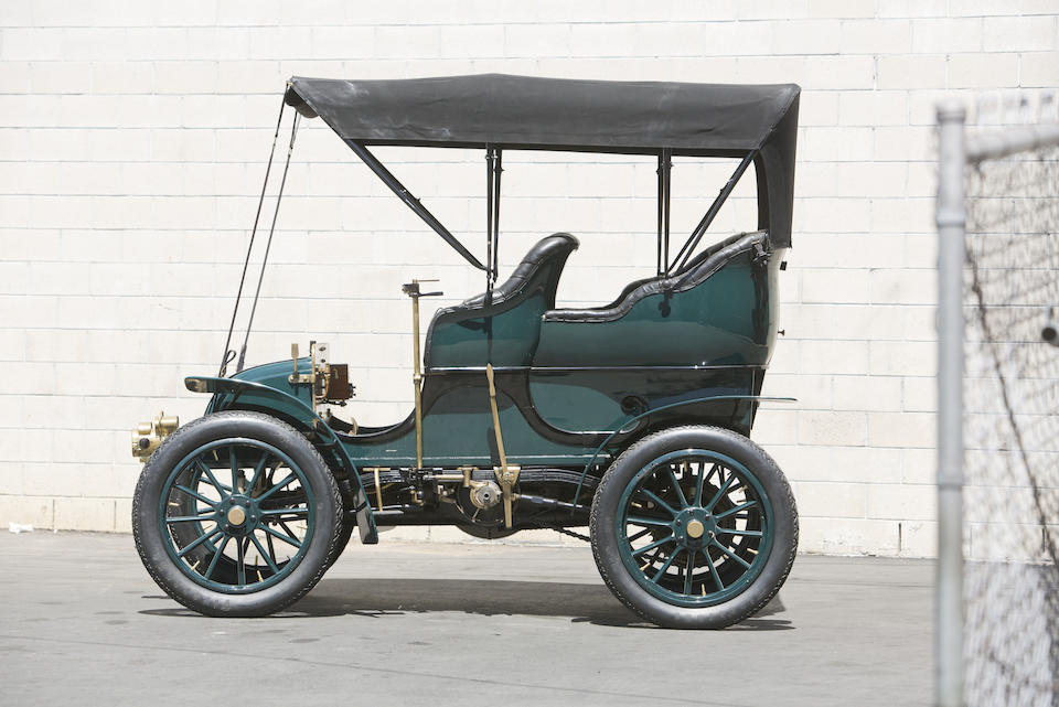 "<b>1904 Knox 16/18HP ""Tudor"" 5-Passenger Touring</b><br />Chassis no. 312<br />Engine no. 839D"